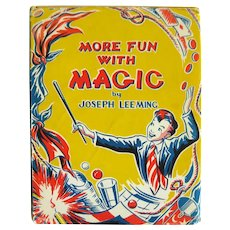 More Fun With Magic by Joseph Leeming - Collectible Illustrated Magic Book