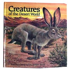 Creatures Of The Desert World National Geographic Action Book - Pop Up Books