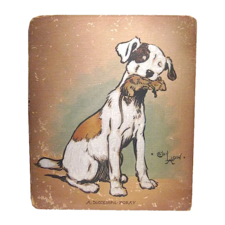 Original Cecil Aldin Painting by Cecil Aldin - Charles Windsor Spaniel Painting