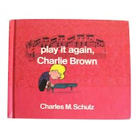 Play It Again, Charlie Brown Stated First Edition World Publishing 1971 Charles M Schulz Excellent Condition