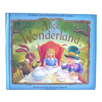 Alice In Wonderland Pop Up Story Book - Collectible 3D Book - Classic Children's Literature