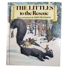 The Littles To The Rescue Vintage Children's Book by John Peterson - Collectible Childrens Storybook
