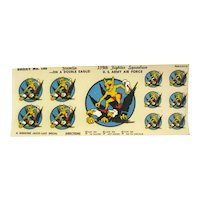 Gremlin 339th Fighter Squadron Water Slide Decals by Jaco-Lac - Military US Army Air Force Decals - Militaria