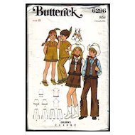 Vintage Western Cowboy & Indian Butterick Pattern