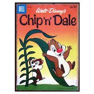 Dell Comics -- Walt Disney Production Chip 'n' Dale Comic #23 1960