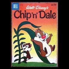 Dell Comics -- Walt Disney Production Chip 'n' Dale Comic #23 1960