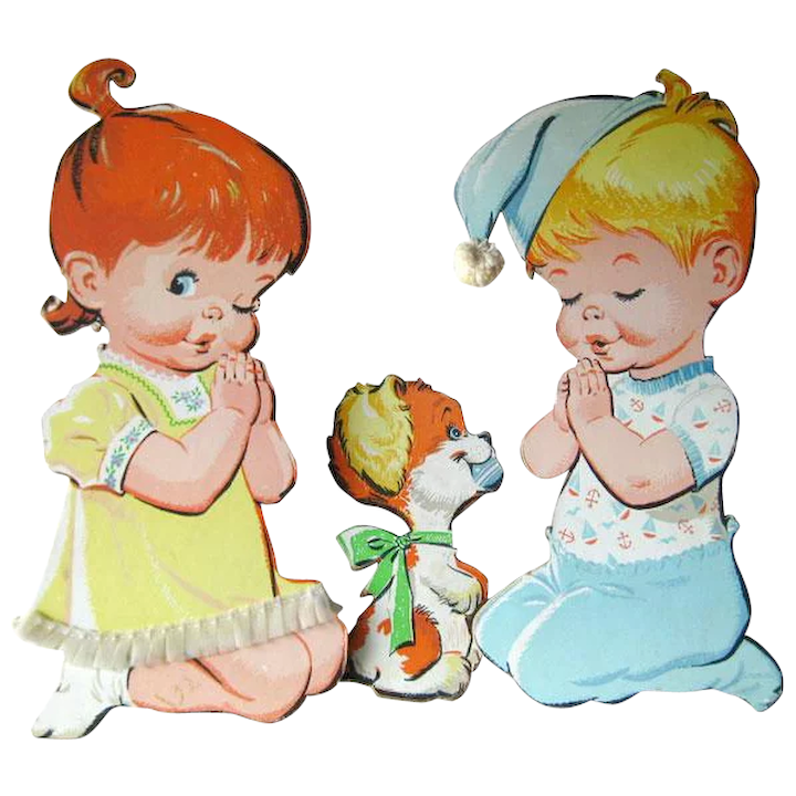Children And Dog Nursery Wall Hanging