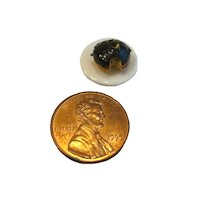 Dollhouse Food Miniature Doughnut - Boston Cream Mini Donut - Miniature Doughnut