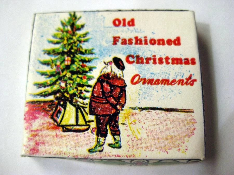 dollhouse christmas ornaments in box miniature christmas decor doll house miniatures click to expand - Miniature Christmas Decorations For Dollhouses
