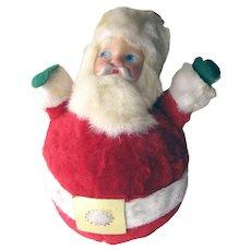 Musical Santa Claus With Rotating Base - Vintage Christmas