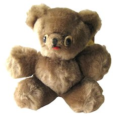 Mohair Vintage Teddy Bear by Character Company - Collectible Stuffed Animal