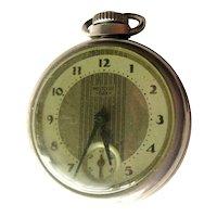 1930s WESTCLOX Dollar Pocket Watch in Working Condition