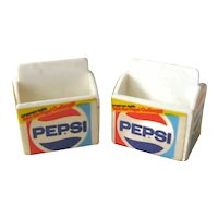 2 Miniature Pepsi Six Packs - Dollhouse Miniatures - Dollhouse Accessories - Miniature Grocery Store