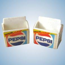 2 Miniature Pepsi Six Packs - Dollhouse Miniatures - Dollhouse Accessories - Miniature Grocery Store