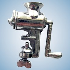 Miniature Grinder for Dollhouse Kitchen or Miniature Store - Dollhouse Accessories
