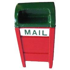Miniature Mail Box - Dollhouse Mailbox - Dollhouse Miniatures