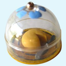 Miniature Covered Cheese Plate - Dollhouse Collectible - Miniature Food