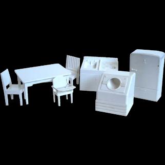 Dollhouse Kitchen Furniture by Superior - Miniature Kitchen