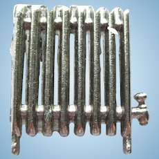 Miniature Radiator For Dollhouse Miniature Furniture Dolls House Accessories