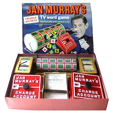 Collectible Game Jan Murray's TV Word Game Boardgame VIntage Games Vintage Toys Early Television Vintage Board Games Game Room Game Night