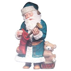 Merry Olde Santa Hallmark Keepsake Ornament Collectors Edition Number 3 / Christmas Ornament / Collectible Ornament
