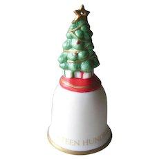 O Christmas Tree Hand Painted Hallmark Ornament 1992 / Christmas Ornament / Collectible Ornament / Holiday Decor