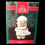 Hallmark Gingerbread Elf Keepsake Ornament / Christmas Tree / Vintage Hallmark / Holiday Decor