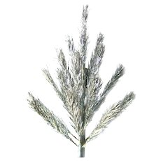 Aluminum Christmas Tree Miniature 2 Foot For Wall or Door - Vintage Christmas Decoration