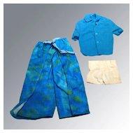 Vintage Ken Doll Rap Pants Outfit 1980s