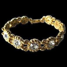 Joan Rivers Classic Collection Rhinestone Bracelet - Vintage Joan Rivers Jewelry