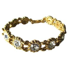Joan Rivers Classic Collection Rhinestone Bracelet - Vintage Joan Rivers Jewelry