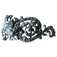 Scroll Work Buckle - Jewelry Supply - Purse Buckle