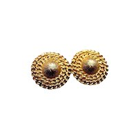 Coro Earrings - Clip On Earrings - Costume Jewellery