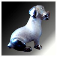 Puppy Dog Pin -- Italian Sterling