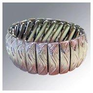 Monet Expansion Bracelet -- New Old Stock