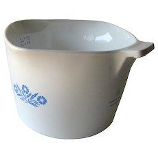 Corning Cornflower Blue Saucemaker / Vintage Kitchenware