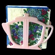 Paper Napkin Holder - Vintage Kitchen Decor