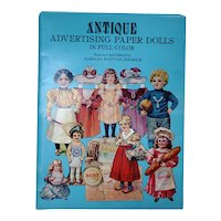 Paper Dolls From Antique Advertising In Full Color / Advertising Cards / Gift Book / Vintage Advertising