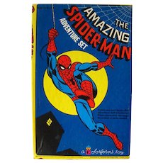 The Amazing Spider Man Colorforms Adventure Set / Colorforms Toy / Vintage Colorforms / Action Hero / Spiderman Adventure