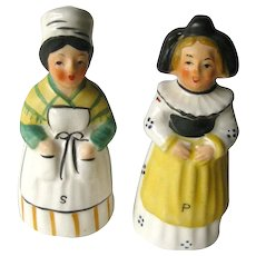 Back to listings Farm Girls Salt and Pepper Shakers - Vintage Kitchenware - Collectible Shakers - Ceramic Shakers - Figural Shakers