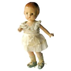 Effanbee Patsyette Composition Doll With Original Outfit - Vintage Dolls - Collectible Effanbee Dolls