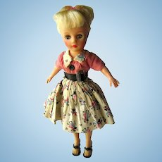 Miss Nancy Ann Vinyl Doll With Rockabilly Outfit and High Heels - High Fashion Doll