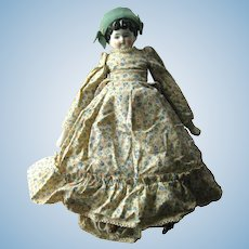 EDITH Hertwig & Co Pet Name China Head Doll 16 Inch With 4 1/2 Inch Head Fully Dressed With Hat - Collectible Dolls