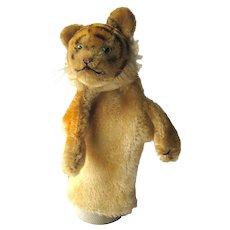 Steiff Mohair Tiger Hand Puppet