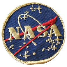 Original Early NASA Patch Space Exploration - NASA Logo