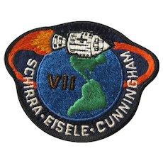 Apollo VII Original NASA Patch - Apollo 7 - Space Travel Collectible