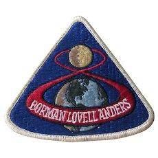 Apollo 8 Jacket Patch - Original NASA Collectible - NASA Patches