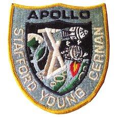 Apollo Ten Original NASA Patch - Great Space Collector Gift