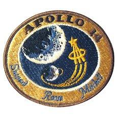 Original Apollo 14 Patch - Early Space Exploration Memorabilia - NASA