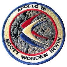 NASA Moon Landing Apollo 15 Embroidered Patch - Original NASA Jacket Patch - Apollo XV